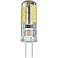 Лампа светодиодная (LED) капсульная d11мм G4 360° 2.5Вт прозрачная нейтральная холодно-белая 4000К Navigator
