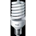 Лампа энергосберегающая (КЛЛ интегрированная) «спираль» d55мм E27 25Вт 230В нейтральная холодно-белая 4000К/840 10000ч Navigator