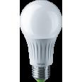 Лампа светодиодная (LED) «груша» d60мм E27 270° 12Вт 127В матовая нейтральная холодно-белая 4000К Navigator