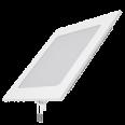 Встраиваемый светильник Gauss ультратонкий квадратный IP20 12W,170х170х22,d155х155,3000K 800лм 1/20