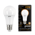 Лампа Gauss LED A70 22W E27 1560lm 3000K