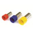 Наконечник-гильза 6 мм с изолир.фланцем 0,25 кв.мм фиолетовый (НШВИ)