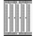 CNU/8/030, 100/ чистые маркировочные таблички