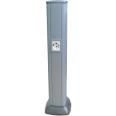 Алюминиевая колонна 0,71 м, цвет темно-серебристый металлик