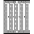 CNU/8/51 10 серия от 41 до 50, горизонтальная ориентация