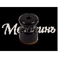 Изолятор из искусственной керамики для монтажа витого провода, цвет - черный, D18,5х24мм, кол-во жил: 2-3, 50 шт /уп, ТМ `МезонинЪ`