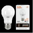 Лампа Gauss LED Elementary A60 7W E27 520lm 2700K