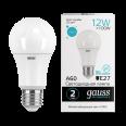 Лампа Gauss LED Elementary A60 12W E27 1150lm 4100K