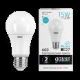 Лампа Gauss LED Elementary A60 15W E27 1450lm 4100K