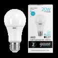 Лампа Gauss LED Elementary A60 20W E27 1600lm 4100K