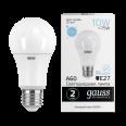 Лампа Gauss LED Elementary A60 10W E27 950lm 6500K