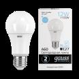 Лампа Gauss LED Elementary A60 12W E27 1170lm 6500K