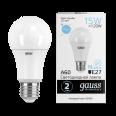 Лампа Gauss LED Elementary A60 15W E27 1480lm 6500K