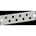 ITK Панель для 8-ми оптических адаптеров (FC или ST в 19` кросс)