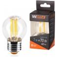 Лампа LED 25S45GLFT7E27 Шар 7Вт 4000К E27