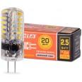 Лампа LED 25SJC-12-2.5G4 JC 2,5Вт 12в 4000К G4