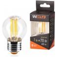 Лампа LED 25Y45GLFT7E27 Шар 7Вт 3000К E27