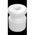 Изолятор универсальный пластиковый, цвет - белый (100шт/уп)