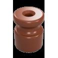 Изолятор универсальный пластиковый, цвет - какао(100шт/уп)
