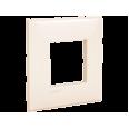 Рамка ARTLEBEDEV, `Avanti`, `Ванильная дымка`, 2 модуля