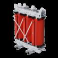 Трансформатор с литой изоляцией 100 кВА 6/0,4 кВ D/Yn–11 IP00