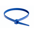 Хомут P6.6 для индикации, синий, 3,5x200
