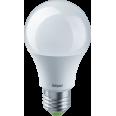 Лампа светодиодная (LED) «груша» E27 230° 12Вт матовая нейтральная холодно-белая 4000К Navigator