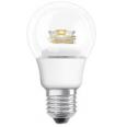Cветодиодная лампа Parathom Advanced А40 6W (замена40Вт),теплый белый свет, прозрачная колба, E27, диммируемая