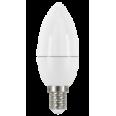 Светодиодная лампа LED STAR ClassicB 5,4W (замена 40Вт),теплый белый свет, матовая колба, Е14