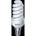 Лампа энергосберегающая (КЛЛ интегрированная) «спираль» d34мм E14 11Вт 230В нейтральная холодно-белая 4000К/840 10000ч Navigator