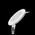 Встраиваемый светильник Gauss ультратонкий круглый IP20 6W,120х22,d105, 3000K 360лм 1/20