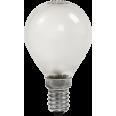 Лампа накаливания ШАР P45 матовый 60Вт Е14 ASD
