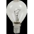 Лампа накаливания ШАР P45 прозрачный 60Вт Е14 ASD
