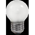 Лампа накаливания ШАР P45 матовый 40Вт Е27 ASD