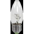 Лампа накаливания СВЕЧА B35 прозрачная 60Вт Е27 ASD