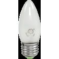 Лампа накаливания СВЕЧА B35 матовая 60Вт Е27 ASD