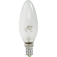 Лампа накаливания СВЕЧА B35 матовая 40Вт Е14 ASD
