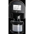 Датчик движения инфракрасный ДД-008-B 1200Вт 180 градусов12м IP44 черный LLT