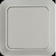 Выкл 1кл BOLLETO белый ASD 7021-W