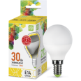 Лампа LED-ШАР 3.5W/3000К 220В Е14 300Лм ASD