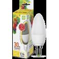 Лампа LED-СВЕЧА 3.5W/3000К 220В Е14 300Лм ASD