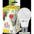 Лампа LED-А60-econom 5W/3000К 220В Е27 900Лм ASD
