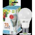 Лампа LED-А60-econom 7W/4000К 220В Е27 600Лм ASD