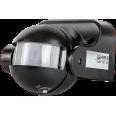 Датчик движения инфракрасный ДД-009-B 1200Вт 180 градусов12м IP44 черный LLT