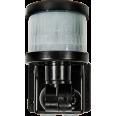 Датчик движения инфракрасный ДД-018-B 1200Вт 220 градусов 12м, IP44 черный LLT