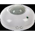 Датчик движения инфракрасный ДД-020B-W 800Вт 360 градусов 6м IP33 белый LLT