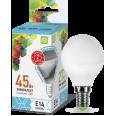 Лампа LED-ШАР 5.0W/4000К 220В Е14 400Лм ASD