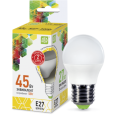 Лампа LED-ШАР 5.0W/3000К 220В Е27 400Лм ASD