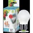 Лампа LED-ШАР 5.0W/4000К 220В Е27 400Лм ASD