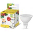 Лампа светодиодная LED-JCDR 3.0Вт 220В GU5.3 3000К 250Лм ASD